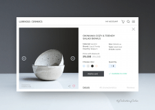Design of product card (E-commerce)