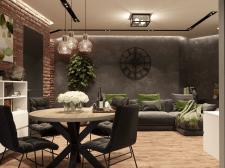 Дизайн квартиры в стиле Loft