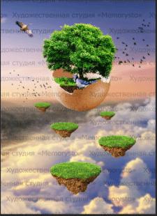 Широкоформатные иллюстрации с эффектом 3d