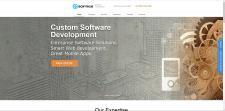 Верстка сайта для компании Softics