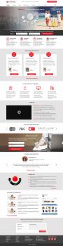 Разработка сайта для компании Tamparo