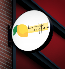 "Логотип ""Lemon coffee"""