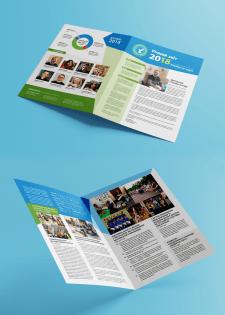 Дизайн річного звіту благодійного фонду