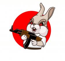 Бешеный кролик, вектор
