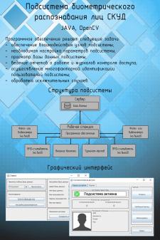 Подсистема биометрического распознавания лиц СКУД