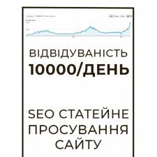 SEO оптимізація сайту