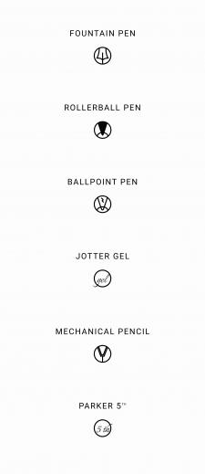 Набор иконок для магазина люксовых ручек