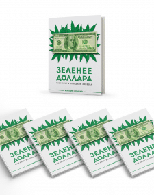 """Обложка для электронного издания """"Зеленее доллара"""""""