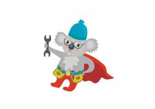 Иллюстрация коалы
