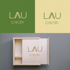 Логотип Laau Cakery