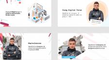 Креативы для Young Digital Forum