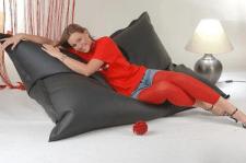 Бескаркасное кресло мешок подушка