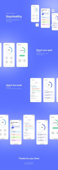 Health Mobile App UI/UX Design