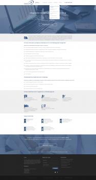 Верстка шаблона wordpress для tender-24
