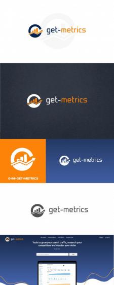 Логотип - get-metrics
