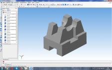 Компас 3D. Трехмерная модель детали