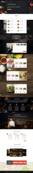 Design restaurant website