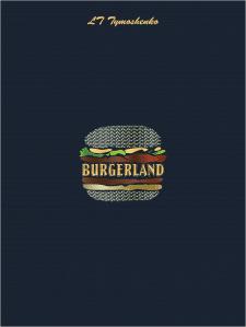 Разработка лого для кафе Burgerland
