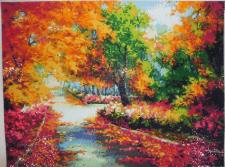 Картина Алмазная вышивка Осенний парк