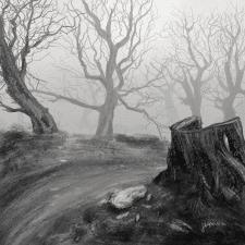 Туманный пейзаж