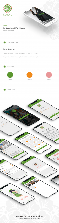 Lettuce iOs App Mobile