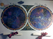 Карта звездного неба (2)