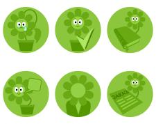 кнопки-иконки