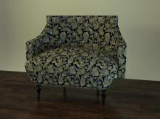 3Д кресло росписное
