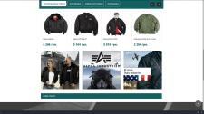 Интернет магазин на престашоп Alpha Fashion