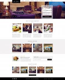 Створення веб сайту для готелю