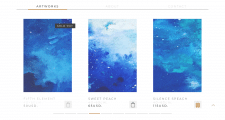 Сайт-портфолио для художника