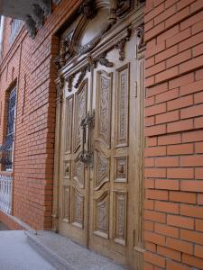 """входной дверной блок на """"Чайке"""""""