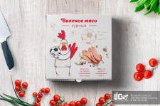 дизайн упаковки вяленого мяса