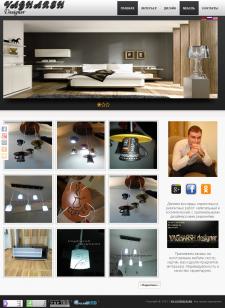 Сайт о дизайне интерьеров