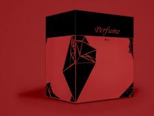 Создание дизайна упаковки духов