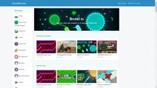 Сайт онлайн-игр
