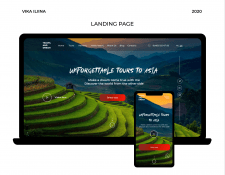 Landing page | Travel & Dream