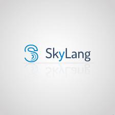 Логотип для онлайн школы Skylang