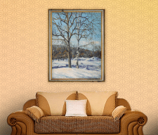 Живопись «Зима»