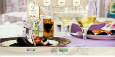 Сайт ресторана Jardin