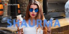 Креативный сайт по продаже шаурмы