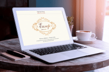 WordPress, Кафе-бутик «Еклер»