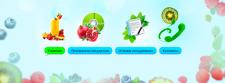 Иконки для сайта о здоровом питании и похудении