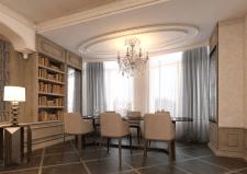 Элегантная гостиная в классике