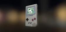 3D Gameboy PBR Lowpoly