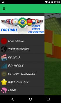 #1 Football Live Scores Stream
