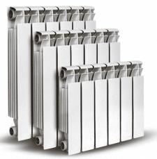 Радиаторы отопления в гипермаркете(описание внизу)