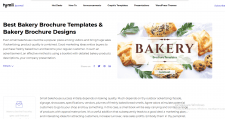 Bakery Brochure Templates. Bakery Brochure De