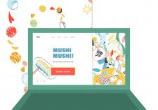 Сайт ресторана японской кухни