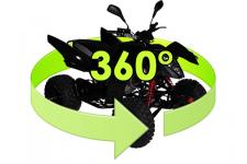 Вращение объекта на 360°